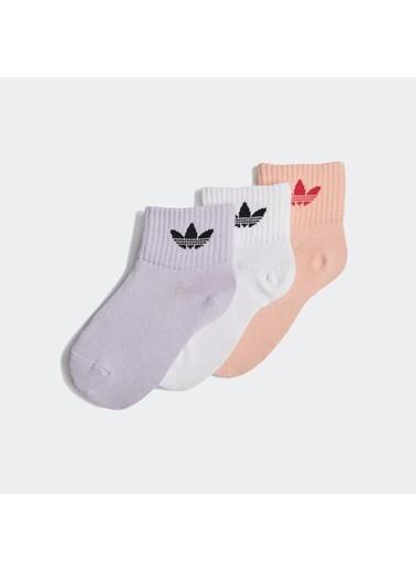 adidas Adidas Çocuk Günlük Giyim Çorap Kids Ankle Sock Gd3130 Pembe